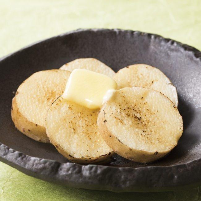 「焼き野菜」長芋のバター醤油焼き