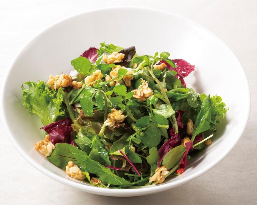 グランポレールのグリーンサラダ