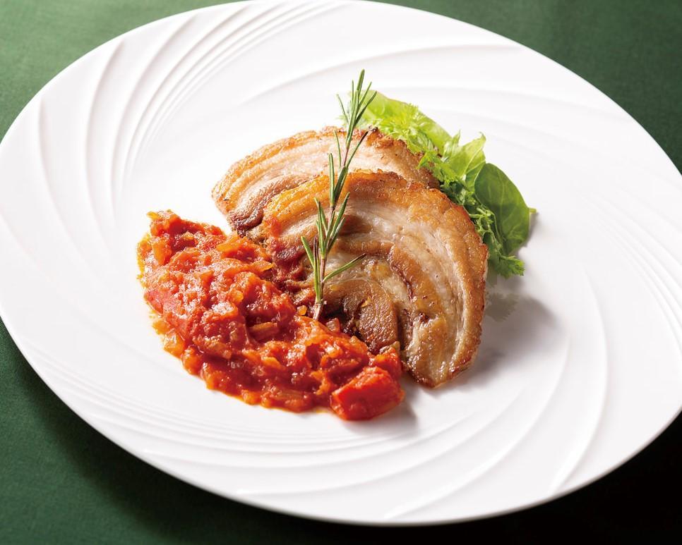 イタリアン焼き豚(チャーシュー)「ポルケッタ」