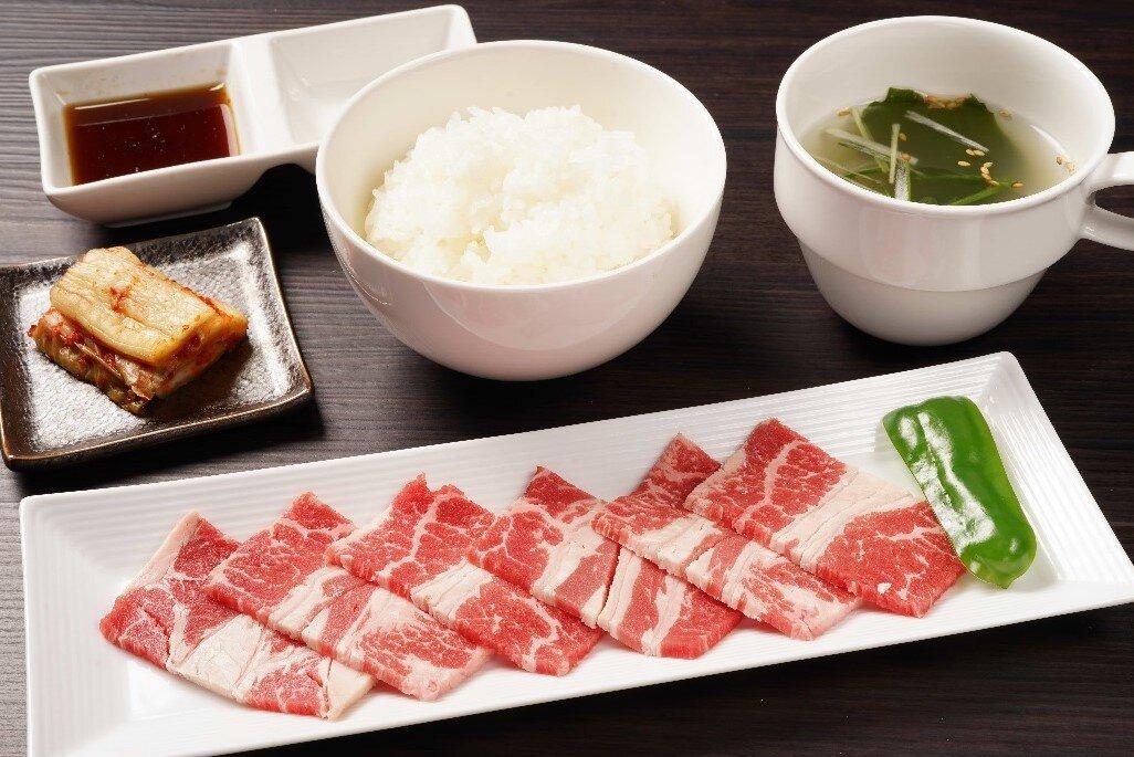 【朝定】牛カルビ定食