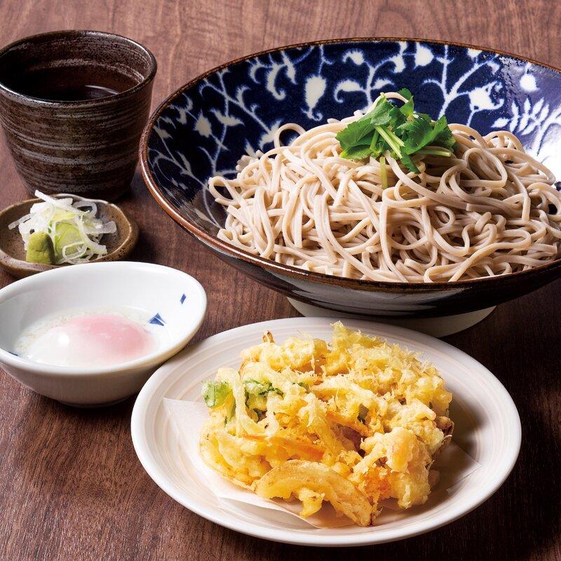 天玉蕎麦(温・冷)