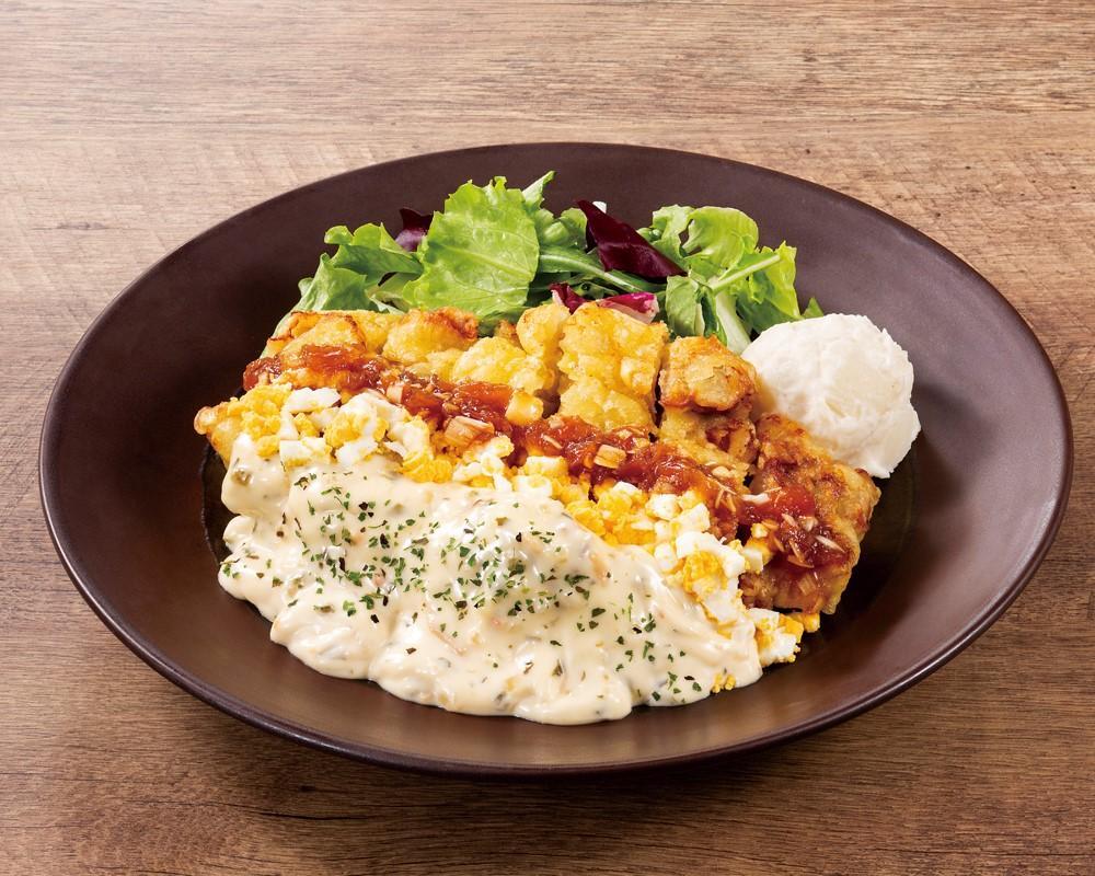 チキン南蛮ランチ <選べる!>ライス・パン・サラダ