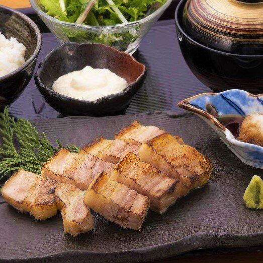 豚肉の藁焼き御膳