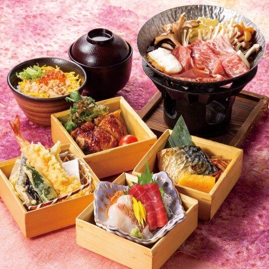 お昼の和食膳「花笑み御膳」 2,000円【要予約】