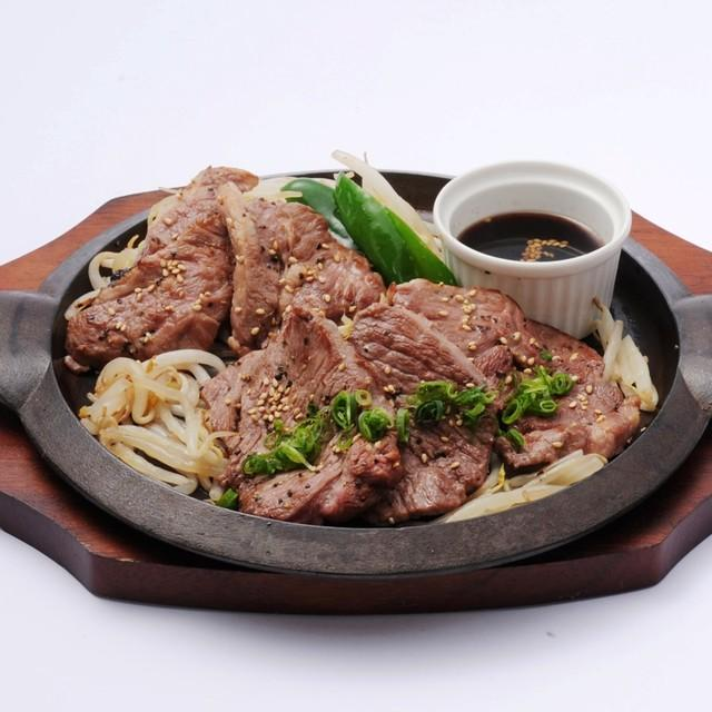 食べ比べジンギスカン御膳 ライス&味噌汁付