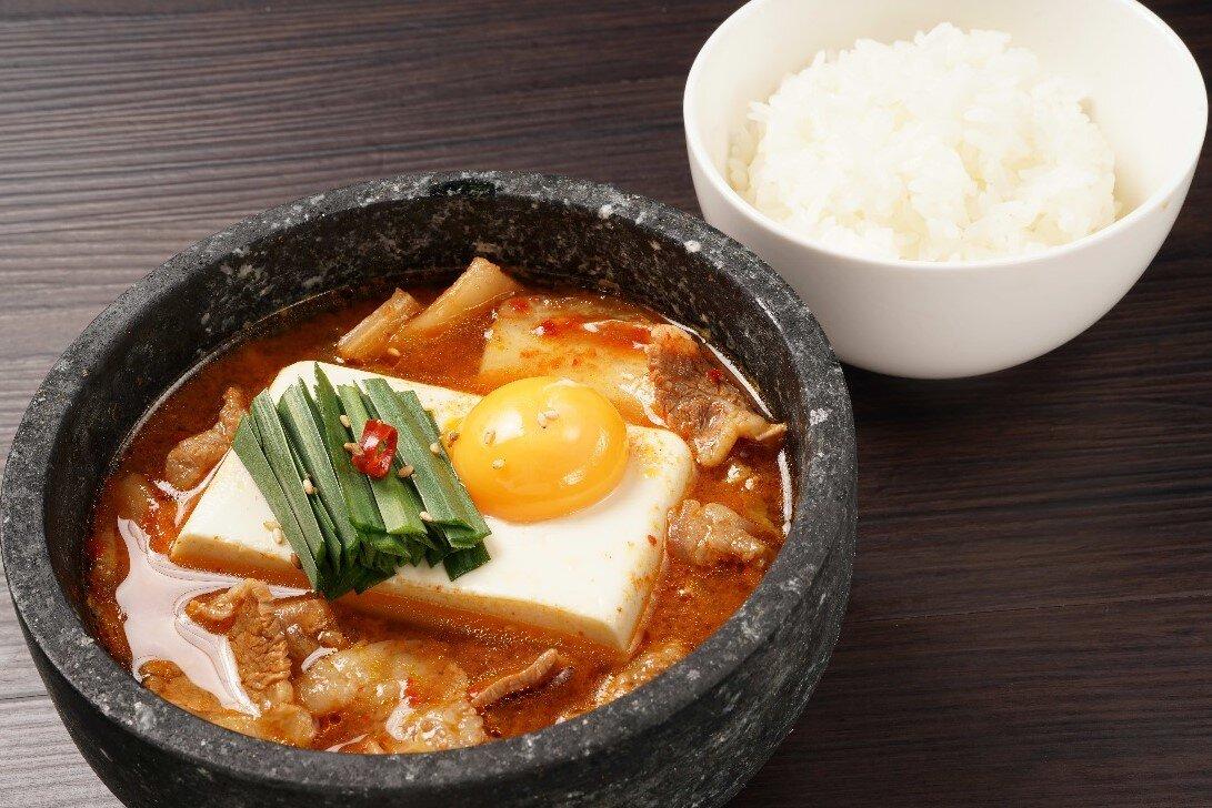 【昼の石焼】石焼純豆腐