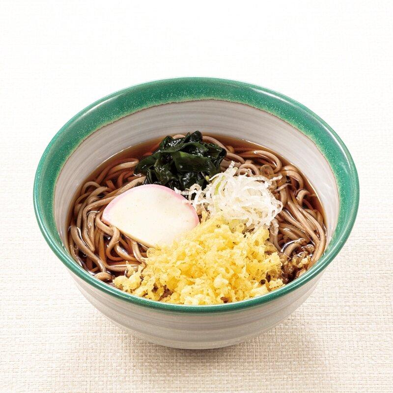 たぬき蕎麦(温・冷)