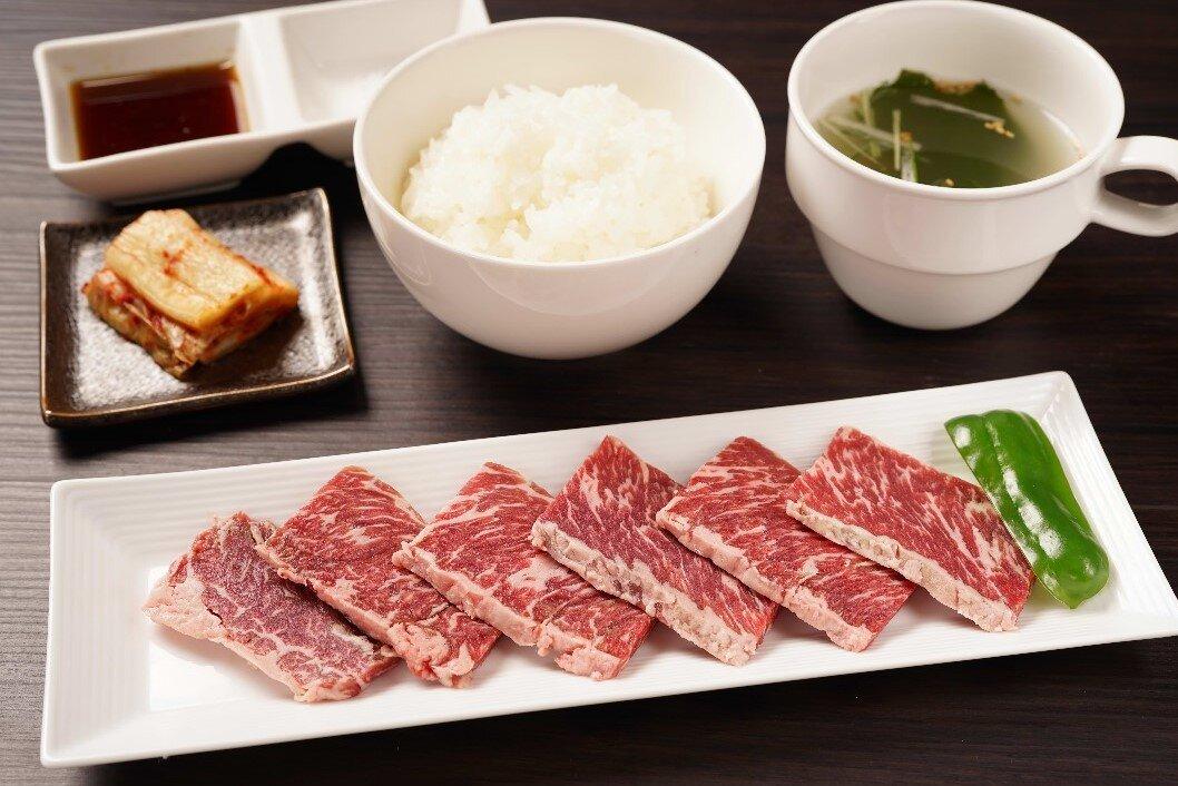 【朝定】牛ハラミ定食