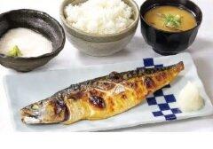 焼き鯖ととろろ定食