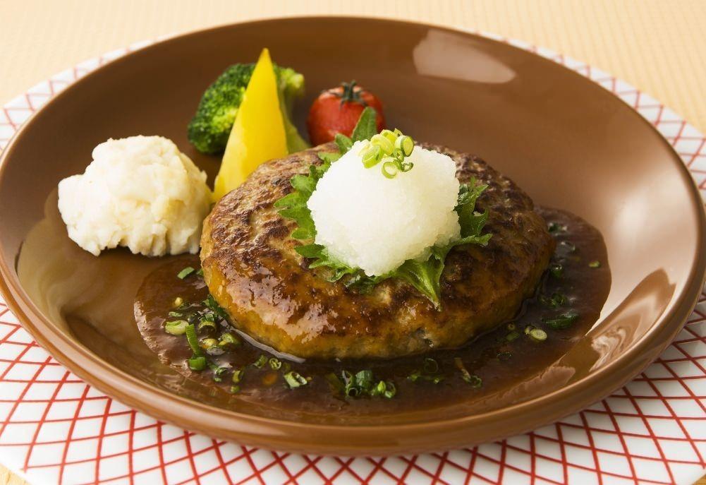 ハンバーグステーキ和風おろしソース