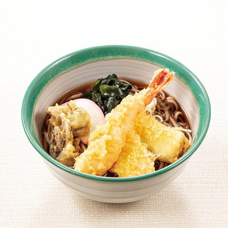 天ぷら蕎麦(温・冷)