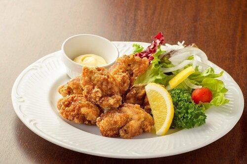 鶏の唐揚げランチ