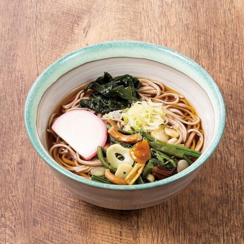 山菜蕎麦(温・冷)