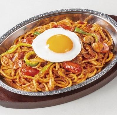 炒めスパゲティ ナポリタンスパゲティ(平日・ホリデー)
