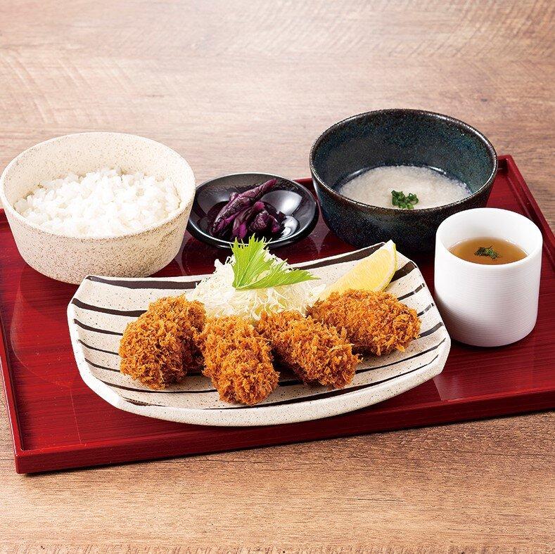 三陸 生牡蠣フライ御膳