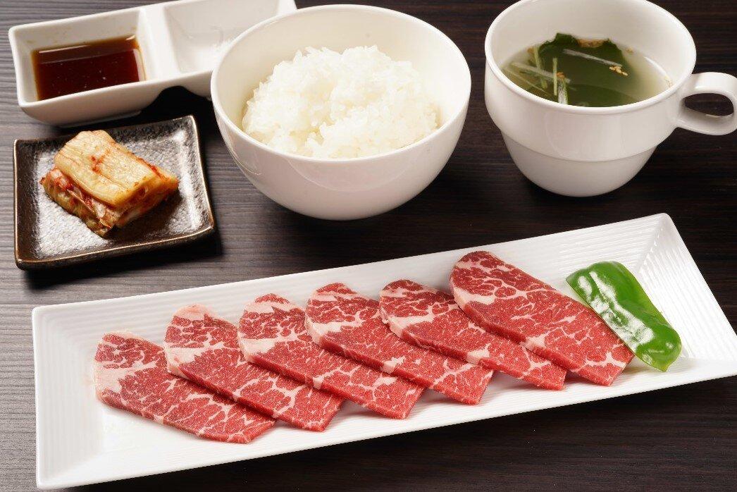【朝定】牛ロース定食