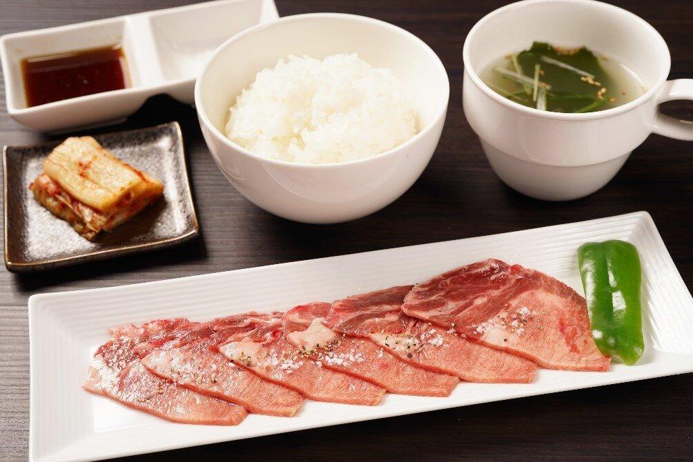 【朝定】牛タン定食