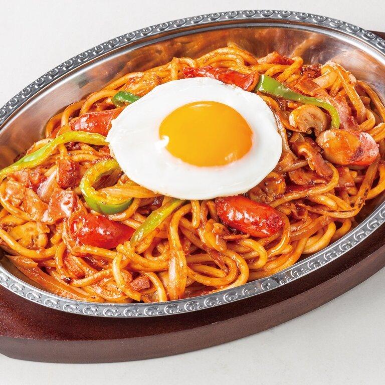 炒めスパゲティナポリタン