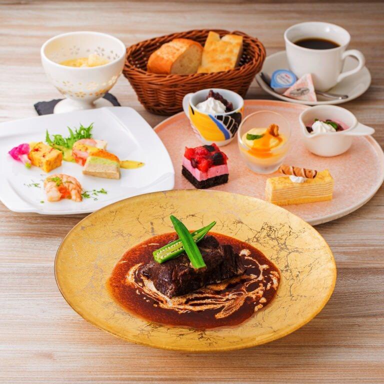 ☆ 前菜・メイン・デザートなど【選べる】ランチコース ~食後のコーヒー・紅茶付き~ ☆