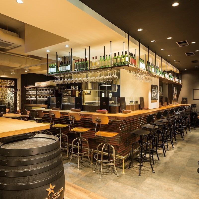 GRANDE POLAIRE WINEBAR TOKYO (グランポレール ワインバー トーキョー) 銀座コリドー街店